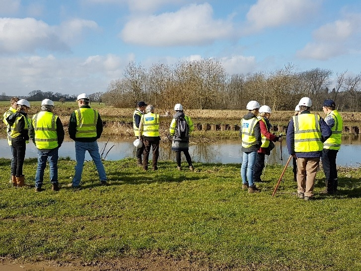 Farmers visit Hardham Water Supply Works