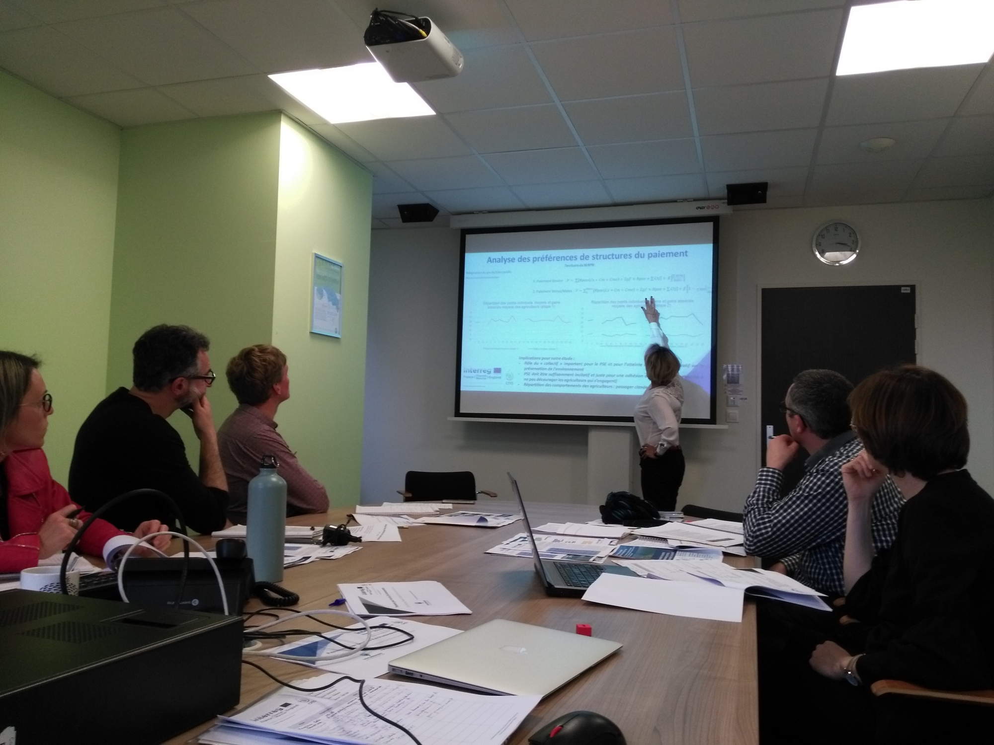 The Interreg CPES project meets the Loire Bretagne Water Agency