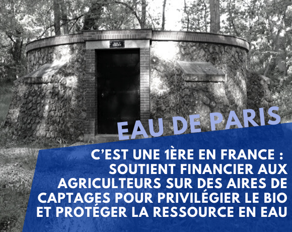 Protection of the resource: Eau de Paris launches its own agricultural aid scheme